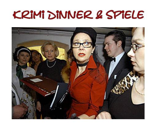 Krimi Dinner & Spiele - Krimi Events als Betriebsausflug, Teamtraining, Incentive