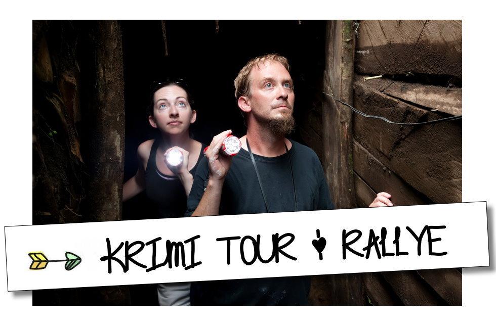 Krimi Touren - Radtour - Rallye
